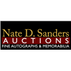Nate D. Sanders Entertainment, Sports, Space and Historical Auction Ending January 30th 5pm Pacific