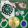 BK Auctions- $1 Start Auction Fine Jewelry, Swiss Watches, Luxury Handbag & Gold Coin Event!