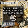 $1 Start - Huge 2 Day Event- Gold & Silver Coins, U.S. Currency, Luxury Watches, Fine Jewelry,& More