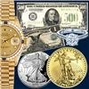 BK Auctions $1 Start Coin, Currency & Swiss Watches Event!