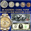 Rare Coins, Paper Money, Stunning Gems & More in BK Auctions 3 Day Event
