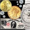 BK Auctions $1 Start- Gold Coins, Swiss Watches, Fine Jewelry, Paper Money & More