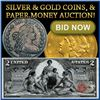 New Years Day - BK Auctions Coin & Currency Event!