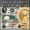 2100+ Items Gold Coins, Paper Money, Watches & More!
