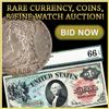 2000+ Items Paper Money, Gold Coins, Jewelry & Watches!!