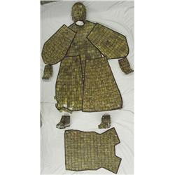 Han Dynasty Like Chinese Jadeite Burial Suit