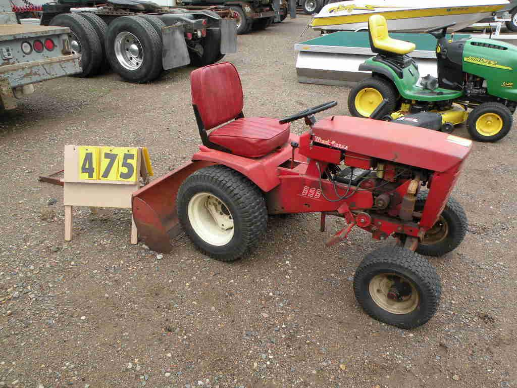 Wheel Horse Tractor Engines : Parts list wheel horse tractor engine and