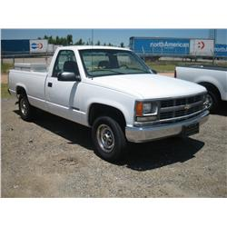 2000 CHEVY 2500 REG CAB, CNG TRUCK,