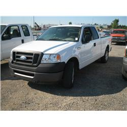 2007 FORD F150XL EXT CAB ,