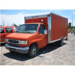 1999 FORD E450 SUPER DUTY BOX VAN,