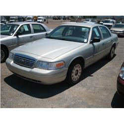 2004 FORD CROWN VICTORIA POLICE INTERCEPTOR,