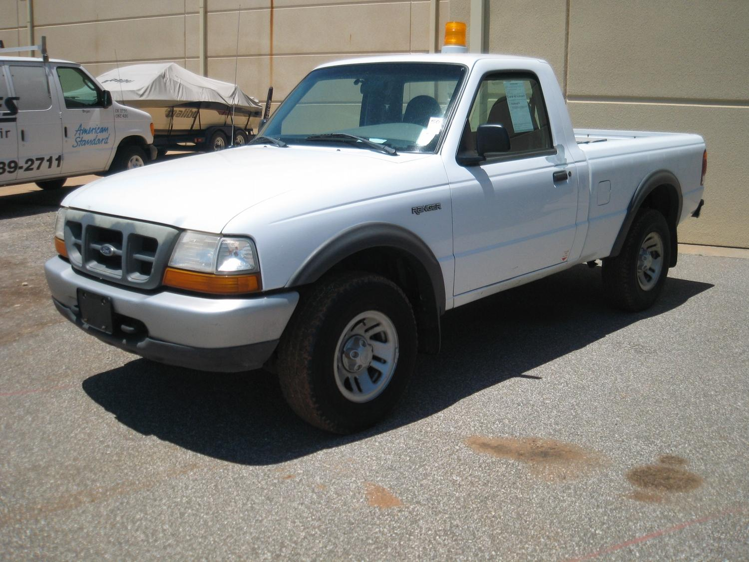 Image 1 1998 ford ranger 4x4 reg cab cng truck