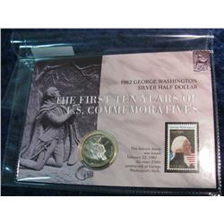 134. 1982 S George Washington Commemorative Silver