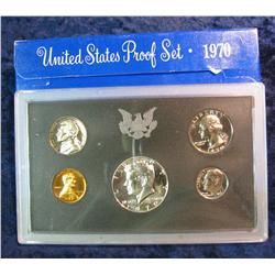 355. 1970 S U.S. Silver Proof Set. Original as issued.