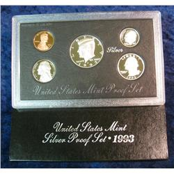380. 1993 S Silver U.S. Proof Set. Original as issued.