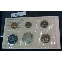 395. 1965 U.S. Special Mint Set. Original as issued.