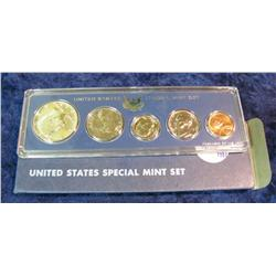 397. 1967 U.S. Special Mint Set. Original as issued.