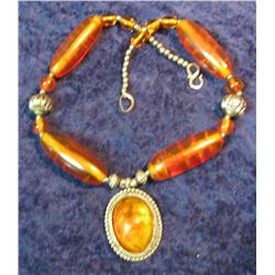 511. Large Amber Necklace from India