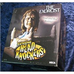 "667. ""Exorcist"" Head and Bed Bobble. New in box."