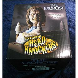 "668. ""Exorcist"" Head and Bed Bobble. New in box."