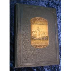 "675. 1925 Yearbook ""Spectrum"" Gettysburg College"