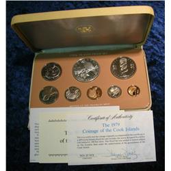 708. 1979 Cook Islands Proof Set. Original as issued.