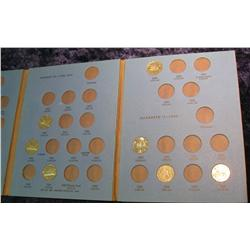 762. Whitman folder with partial set of Canada Nickels