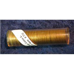 772. 1964 P BU Roll of Lincoln Cent in a plastic tube.