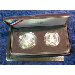 780. 1989 S U.S. Congressional Two-Piece Proof Set.