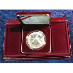 783. 1988 S Olympics Proof Silver Dollar. Original as issued.