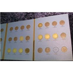 792. 1900-1912 Partial Set of Liberty Nickels in a Whitman folder.