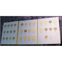 796. 1892-1910 Partial Set of Liberty Nickels in a Whitman folder.