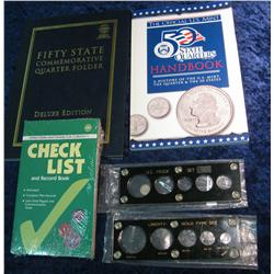 838. State Quarter Folder and miscellaneous Supplies.