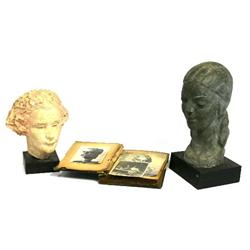 LOT OF TWO SCULPTED BUSTS BY FRANCIS SAVAGE