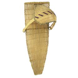 Paiute Basketry Cradleboard