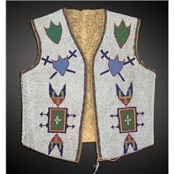 Sioux Boy's Beaded Vest