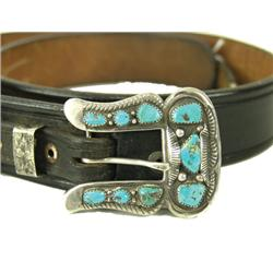 Navajo Buckle Set & Belt