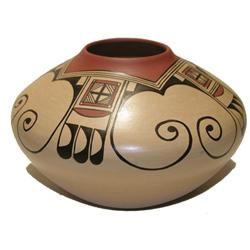 Hopi Pottery Bowl - J.P.