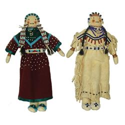 Blackfeet/Crow Beaded Dolls- Jackie Larson