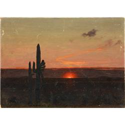 Painting, James Guilford Swinnerton, Saguaros
