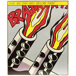 Prints, Roy Lichtenstein, As I Opened Fire