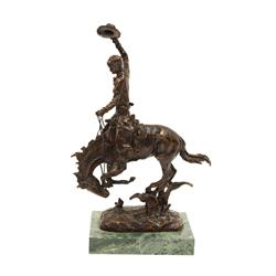 Bronze, Carl Kauba, Rodeo Rider