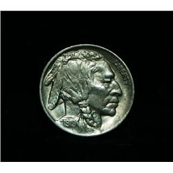 1919-p Buffalo Nickel 5c Grades au58