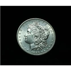 1886-s Morgan Dollar $1 Grades Select Uncirculated ms63