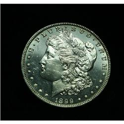 DMPL  1899-p Morgan Dollar Grades Choice Uncirculated ms64  DMPL