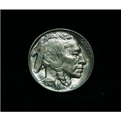 1927-p Buffalo Nickel 5c Grades Choice Uncirculated ms64