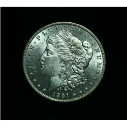 "1891-cc Morgan Dollar ""Spitting Eagle""  Grades Select Uncirculated ms63++ PQ  TOP 100 VAM 3 ""Spittin"
