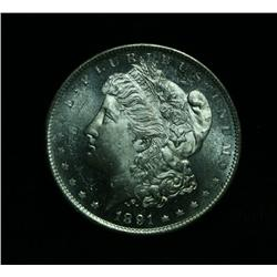 ***Rare  1891-s Morgan Dollar grades Choice Uncirculated ms64 DMPL  RARE***