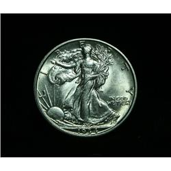 1934-s Walking Liberty Half Dollar 50c Grades Choice Uncirculated ms64
