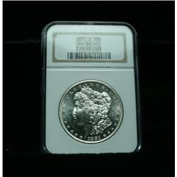 NGC 1881-s Morgan Dollar Graded Choice Uncirculated ms64  PL  Proof Like!